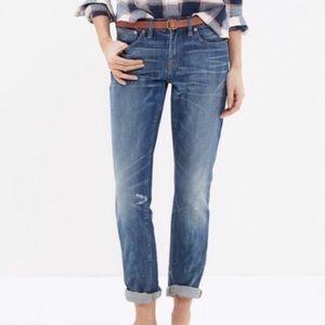 Madewell 'Slim Boyjean' Boyfriend Jeans Sz 26